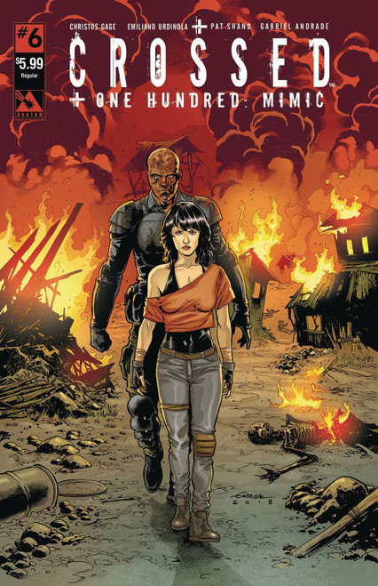 Crossed Plus 100 Mimic #6 Avatar Press Inc Comic Book