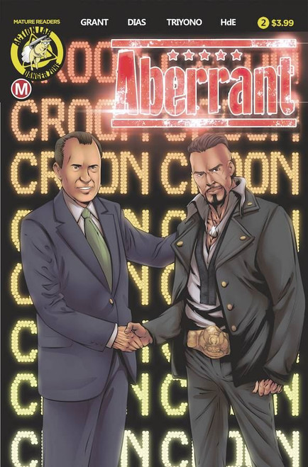 Aberrant #2 (Cvr B Leon Dias) Action Lab - Danger Zone Comic Book