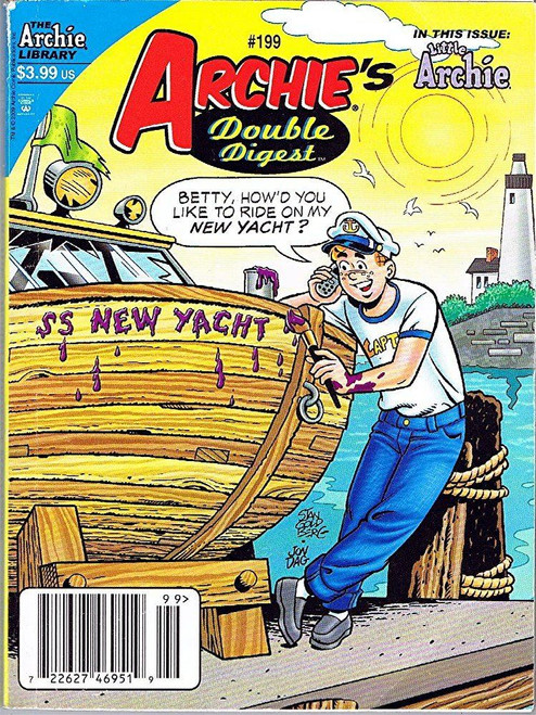 Archie's Double Digest #199 (The Archie Library) [Comic]