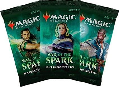 MTG War of the Spark Japanese Booster Pack