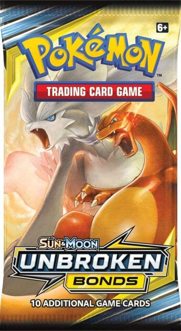 Pokemon TCG: Sun & Moon 10 Unbroken Bonds Booster Pack
