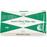 "Insect Sting Wipe Ups, 1"" x 2"", 10 pack"