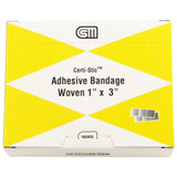 """Certi Strip Woven Bandages, 1""""x3"""", 100 pack"""