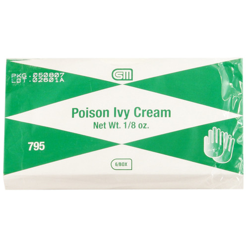Poison Ivy Cream, 1/8 oz., 6 pack