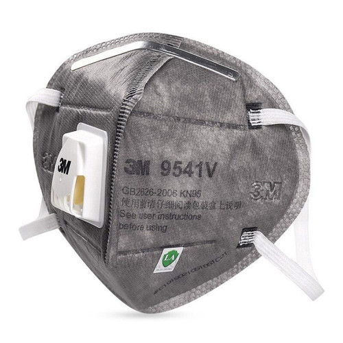 3M KN95  Protective Face Mask with Valve 9541V