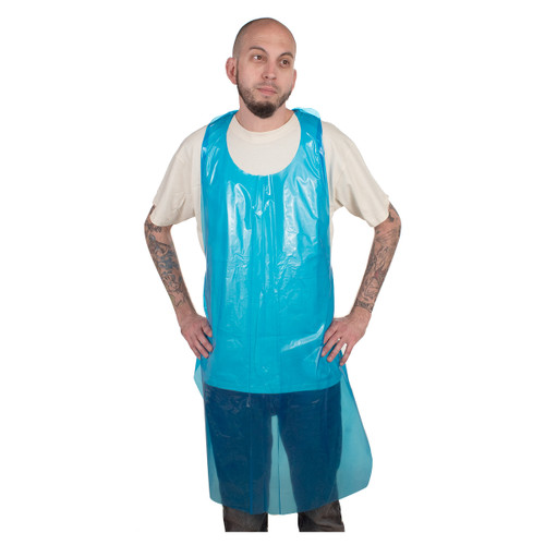 50 Pack Sanitary Disposable Polyethylene Apron- ANASPE2AP