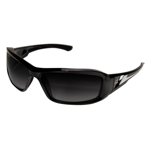 Edge Brazeau Safety Glasses with Black Frame - Polarized Gradient Lens