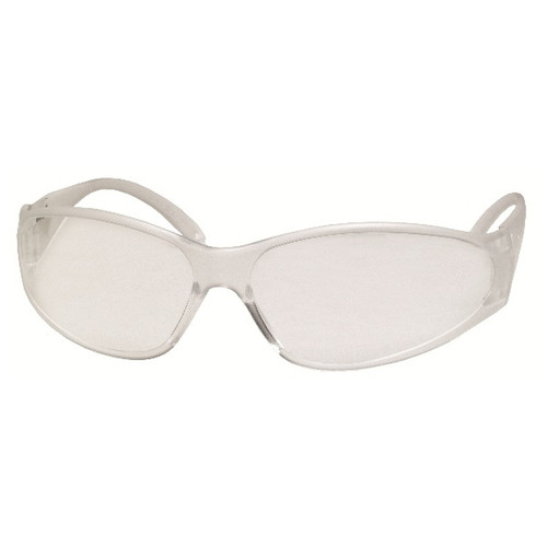 ERB Boas Safety Glasses with Clear Frame and Anti-Fog Lens