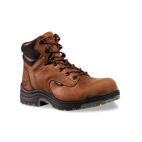 "Timberland PRO Women's 6"" TiTAN Soft Toe Leather Work Boots - 55398"