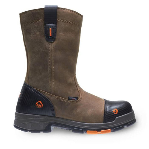 """Wolverine Men's Blade LX 10"""" WP Carbonmax Safety Toe Wellington Boots - W10650"""