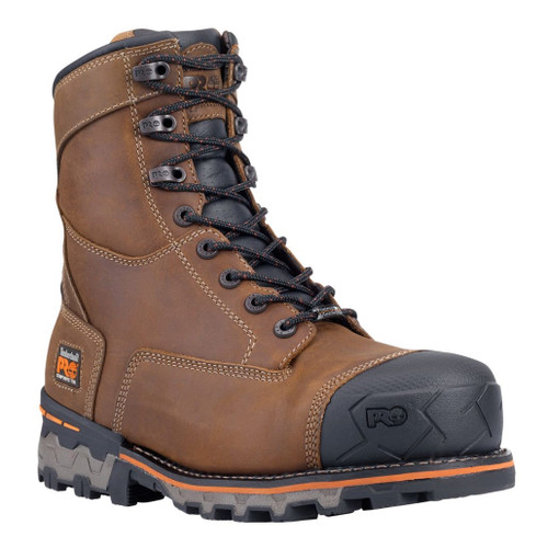 "Timberland PRO Men's 8"" Boondock Composite Toe WP Work Boots - 92671214"