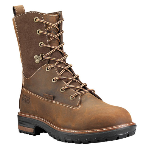 """Timberland PRO Women's 8"""" Hightower Alloy Safety Toe WP Work Boots - A1KJ5214"""