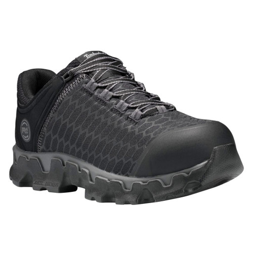 Timberland PRO Women's Black Powertrain Sport Alloy Safety Toe SD+ Work Shoes - A1B7F001