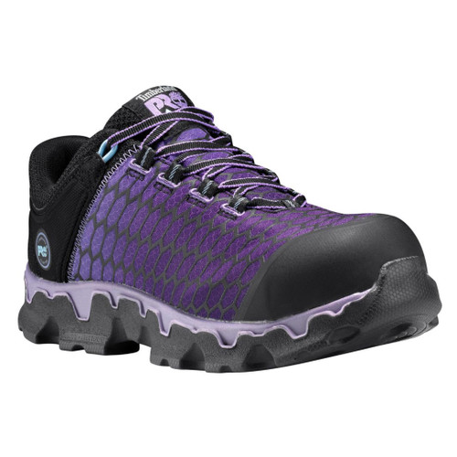 Timberland PRO Women's Purple Powertrain Sport Alloy Safety Toe SD+ Work Shoes - A1H1S001