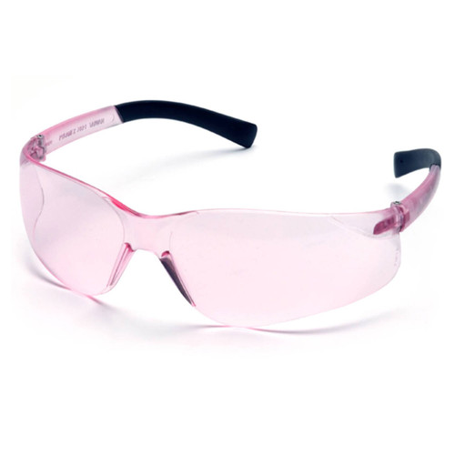 Pyramex Mini Ztek Safety Glasses - Pink Lens