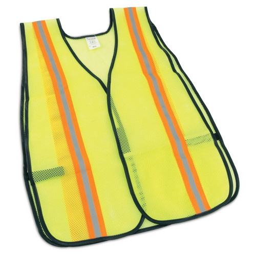 OccuNomix Non-ANSI Two-Tone Mesh Safety Vest - LUX-XTTM