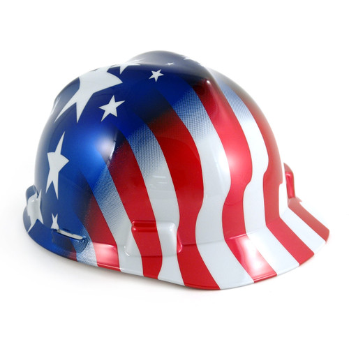 American Stars and Stripes Hard Hat