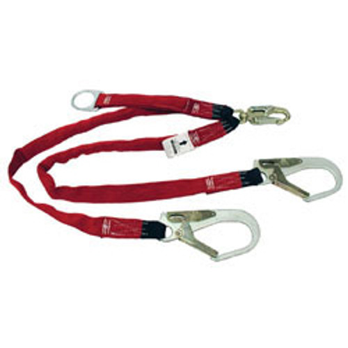MSA Shock Absorbing Diamond Lanyard - Double Leg