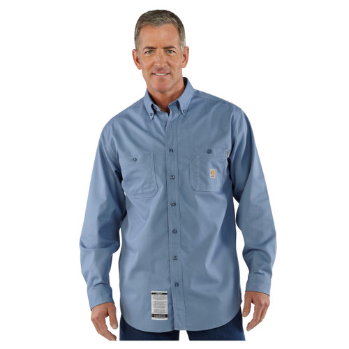 Carhartt Men's Flame Resistant Lightweight Twill Tradesman Shirt - FRS159