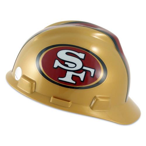 San Francisco 49ers V-Gard Hard Hat
