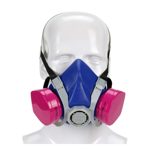 Safety Works Half-Mask Toxic Dust Respirator