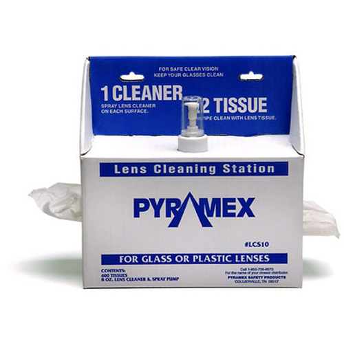 Pyramex Lens Cleaning Station - 600 Tissues