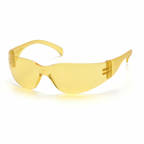 Pyramex Intruder Safety Glasses - Amber Lens