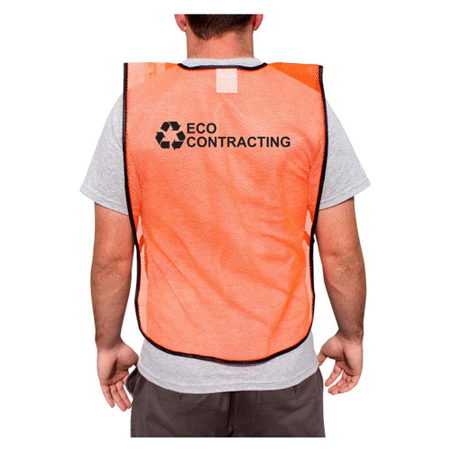 Customized Rugged Blue Non-ANSI Mesh Safety Vest