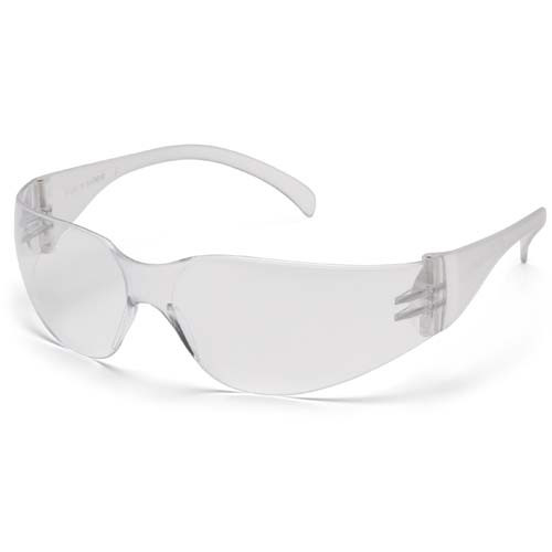 Custom Imprinted Pyramex Safety Glasses - Intruder - Clear - 1
