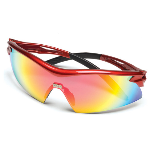 MSA Racer Red Sightgard Safety Glasses