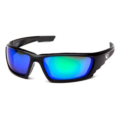 Venture Gear Brevard Safety Glasses - Green Mirror Anti-Fog Lens
