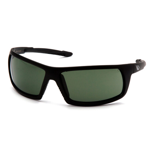 Venture Gear Stonewall Safety Glasses - Forest Gray Anti-Fog Lens