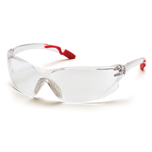 Pyramex Safety Achieva Pink Temple Safety Glasses - Clear Lens - SP6510S