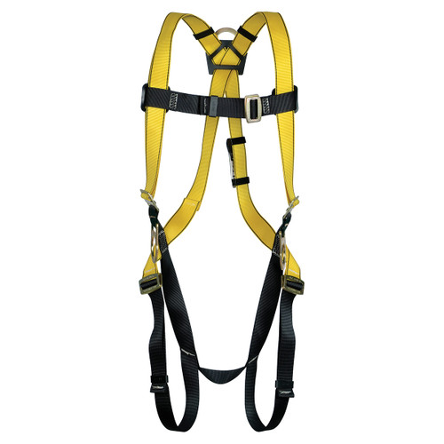 MSA Workman Safety Harness - 3 D Rings with Qwick Fit Buckles