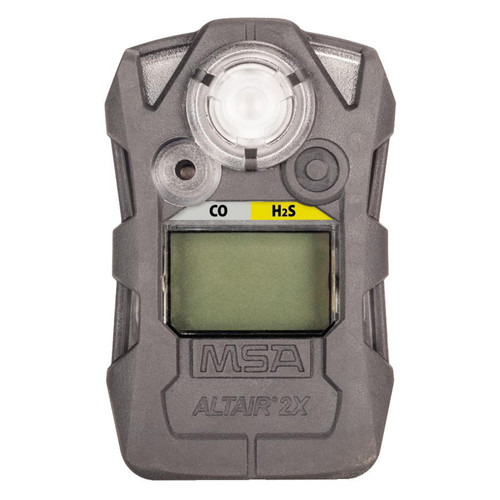 MSA Altair 2XT Two-Tox Gas Detector - CO-H2S - Gray
