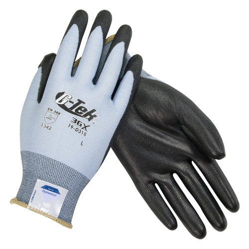 G-Tek 3GX Seamless Knit Polyurethane Coated Gloves - 19-D318