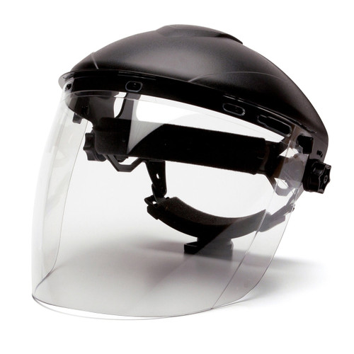 Pyramex Tapered Polycarbonate Face Shield - S1110 - Shield Only