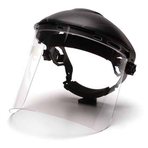 Pyramex Polycarbonate Face Shield - S1210 - Shield Only
