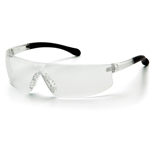 Pyramex Safety Provoq Safety Glasses - Clear Frame/Clear Lens
