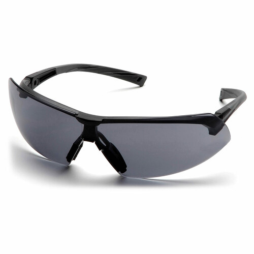Pyramex Safety Onix Safety Glasses - Black Frame/Gray Lens