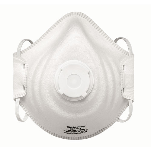 Gateway Safety Vented Peakfit Disposable Respirator N95