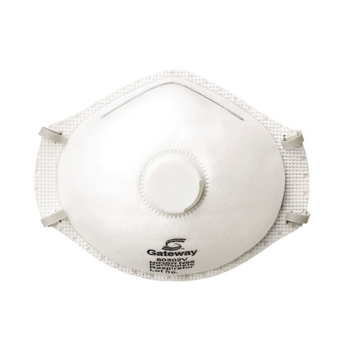 Gateway Safety Vented TruAir N95 Particulate Respirator