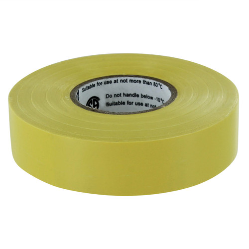 Yellow Rugged Blue M 809 Electrical Tape 3/4in x 66ft x 7 mil U/L