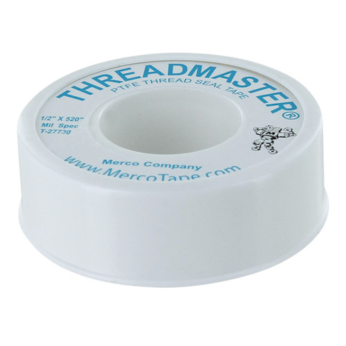 Rugged Blue  M 44 Threadmaster Threadseal Tape 1/2in x 520in