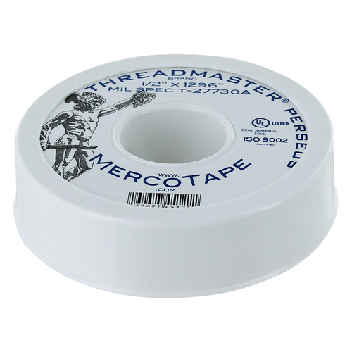 Rugged Blue  M 45 Threadmaster Perseus Threadseal Tape 1/2in x 1296in