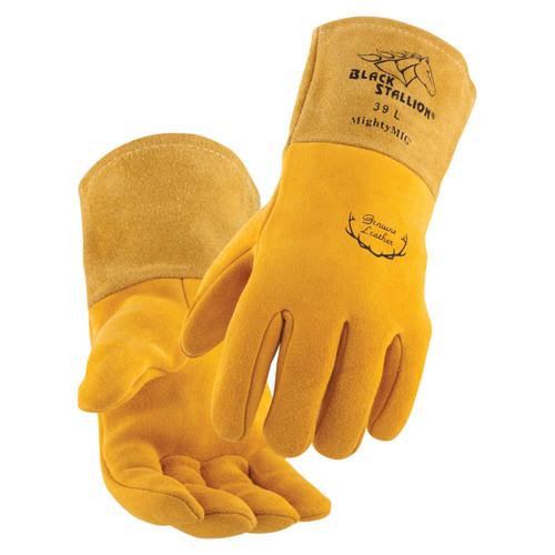 Black Stallion Premium MightyMIG Welding Gloves - Single Pair