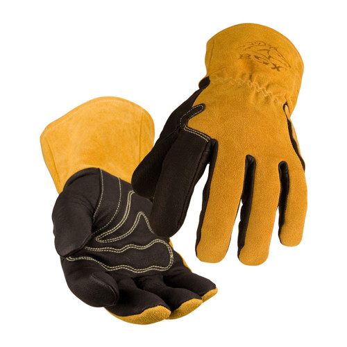 Black Stallion Premium Grain Pigskin MIG Welding Gloves - BM88
