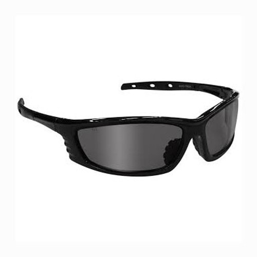 Radians Chaos Safety Glasses - Black Frame - Silver Mirror Lens