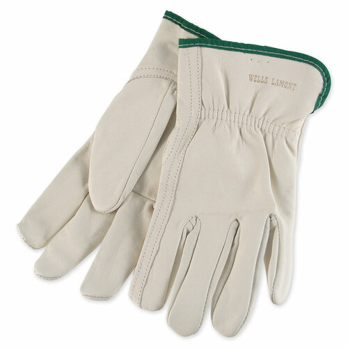 Wells Lamont Goatskin Leather Driver Gloves - Y0769