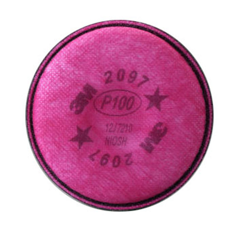3M 2097 P100 Particulate - Organic Vapor Filters - 2 Filters